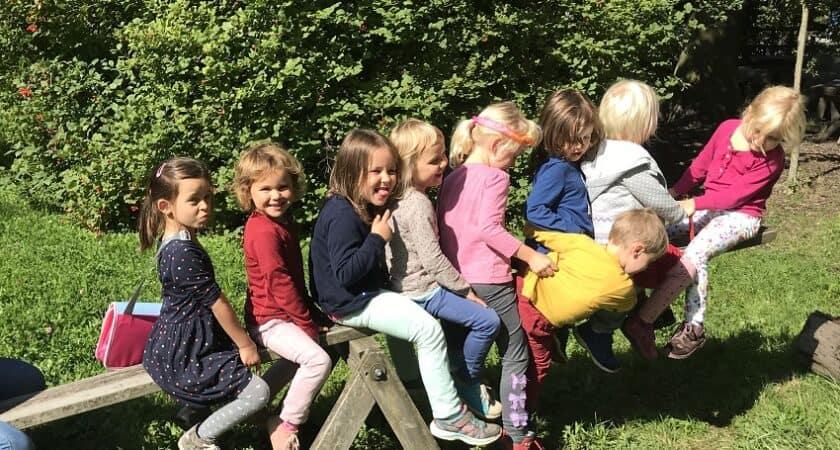 Kindergarten Rösslistall